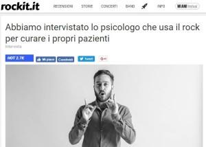 Rassegna stampa su Lo Psicologo del Rock